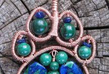 A - perling,smykker  og macrame