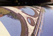 Wallpaper Ink / Some photographs of the Wallpaper Ink studio & customer's prints.