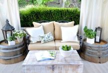 Liten terrasse, inspirasjon ♥