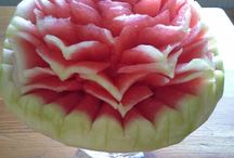 vesimeloni/arbuus/watermelon/carving
