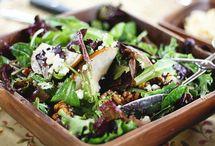 Must tries - salads / by Sandra Matsuba