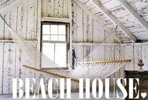 C A S A  D A  P R A I A / Itens de decoração e arquitetura de casa de praia.