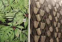 Floral and Vegetal Motives at Cersaie 2016 / The exhibition stands of many tile brands were decorated with large-format compositions featuring flowers, trees and birds, which became a nice change from the numerous imitations of stone, concrete, brick and versatile industrial style tile collections.