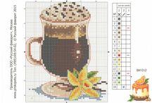 кофе.вышивка
