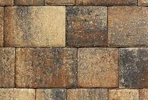 Studio D Paver Selections / The Olde Towne style pavers come in a vintage European pattern and the cobblestone finish adds a timeless and classic aesthetic. *Levels, pricing and product availability are subject to change without notice. For the most up-to-date selections and information, please schedule a visit with Studio D, the Dostie Homes Design Center.