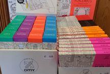 OMY / Les coloriages OMY sont de retour !!! Venez découvrir les nouveaux modèles et les formats pockets.