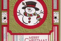 Cards Snowman