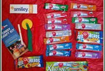 Airheads Crafts / #AirheadsCrafts made from the popular Airheads #candy! We are doing this for a Smiley360.com campaign, so follow along as we decide what to make with our goodies (from the first pic)!