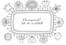 Színezők/Coloring pages / Színezők, mindenféle alkalomra és minden témában! Coloring pages for differnet occasions and many topics!