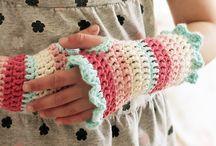 Crochet Fingerless Gloves  / by Jean Brittingham