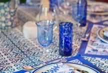 Blues / Bold blues to beautify your wedding day. Designs available at Persnickety Invitation Studio.