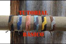 tutorial macrame bracelet