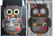 Crochet - Owls