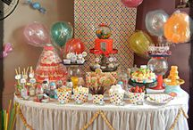 Reagan's Candyland B-day party / by Angelia P