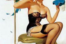 Pin up and Burlesque