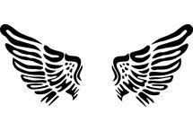 Printable,angel,cherub,wings,vintage,retro,transfer,pic