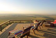Angama Mara / Perched on the edge of the Great Rift Valley high above Kenya's Maasai Mara, Angama Mara is a remarkable new owner-run safari lodge.