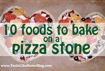 Pizza stone recipes