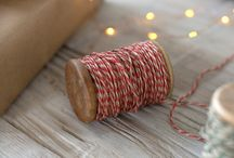 Pretty Ribbon, Twine And More / Ribbon, Twine and more for you gift wrapping inspiration...galore! I #Ribbon I #Twine I #GiftWrapRibbon I #RibbonLove
