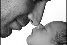 Photo - Newborn - With father