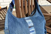 Denim repurpose / DIY from recycled denim jeans