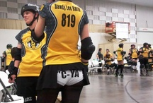 Roller Derby /  Southern Illinois Roller Girls 2012 http://www.soillrollergirls.com/ / by Gypsy Obermiller
