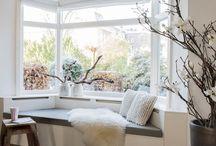 Huisdecoratie gordijnen