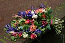 Begrafenis bloemen
