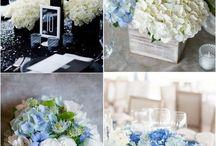 bodas en azul