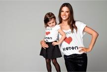 Alessandra Ambrosio & Anja  / Alessandra Ambrosio & Anja 2012/2013 Sonbahar - Kış sezonunda Koton için poz verdi!