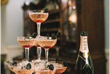 Drink Station / Gin Tonic, Whiskey, Cognac oder Limo: coole Bar-Ideen für deine Hochzeit