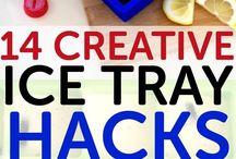 Creative ice cube ideas