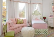 bedroom ideas for the girls / by Memorie Gaughf