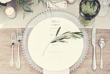 Place setting/centrepiece