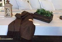 mantas tejidas