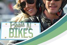 Boats N Bikes / Red Rock Entertainment's Boats and Bikes, A quality factual entertaining full of fun and adventure, outstanding locations, glamorous presenters, great music and interesting people with a sprinkling of comedy. The First series has been shot in America The models turned presenters, Joshua Kloss and Jessica Harbour, travel across the USA on a ultra cool Harley Davidson motorcycle, reviewing yachts and motorcycle