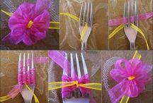 DEKORACE - kytky a jiné / výroba květin