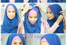 HOW MAKE HIJAB AWESOME ??