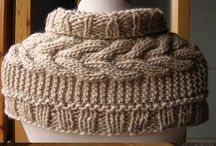 Knitting, crochet and embroidery