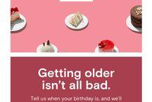 birthday email inspiration