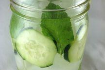 recepten fruity water bottle