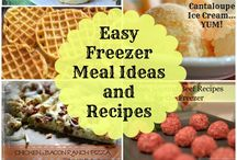 Freezer cooking ideas