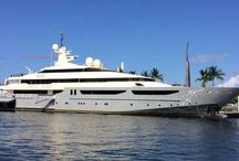 Fire Retardant for Yachts / Fire Retardant service for yachts from Fort Lauderdale, Florida and Amsterdam, The Netherlands.