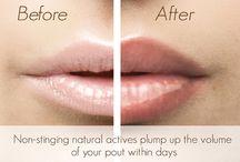 Lips / Lip plumping lip gloss