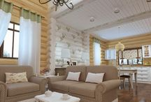 Cozy living room with small area / Cozy living room with small area