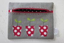 Purses/pencil cases/ key rings/pincushions