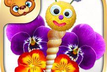 123 Kids Fun Summer Designer / #summer #creative #apps #games #play #kids #fun #crafts