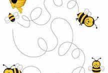 Kindergarten - Bienen