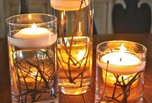 Rustic Candle Decor Ideas / Amazing candle decor ideas! Make your home, studio or office with a fresh and rustic feel. Give an all day candle light dinner effect to your interiors. Shared the best rustic candle decor ideas.