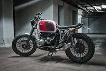 #Motorecyclos Boxer Country / #motorecyclos #custom #motorcycles #tracker #scrambler #caferacer #Bmw r80